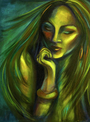 Self-portrait Mixed Media - Still by Rochelle Midro