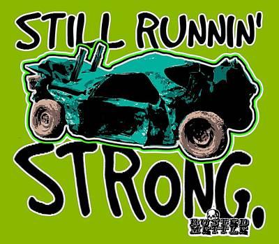 Still Runnin' Strong Art Print by George Randolph Miller
