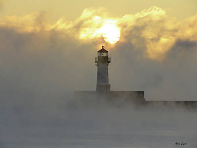 Duluth Photograph - Still Smoking by Alison Gimpel