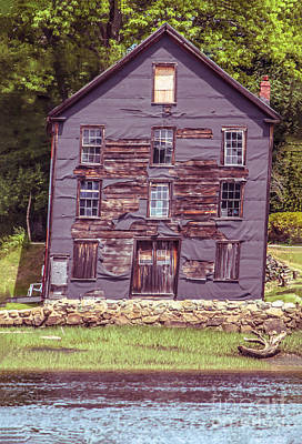 Haunted Shack Photograph - Still Standing by Claudia M Photography