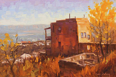 Painting Rights Managed Images - Still Standing - Jerome, AZ Royalty-Free Image by Cody DeLong