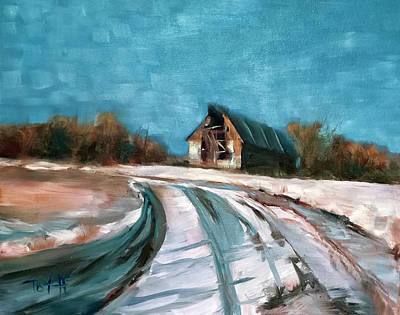 Painting - Still Standing by Laura Toth