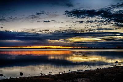 Photograph - Still Sunset by Doug Long