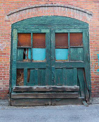 Photograph - Still The Green Door by Fran Riley