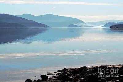 Art Print featuring the photograph Still by Victor K