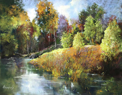 Painting - Still Water Inlet by Rae Andrews