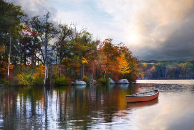 Photograph - Still Water Lake by Robin-Lee Vieira