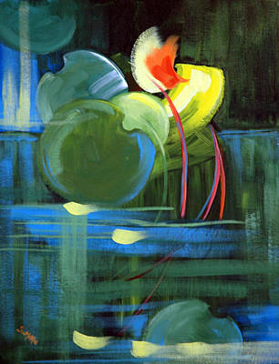 Painting - Still Water by Suzanne McKee