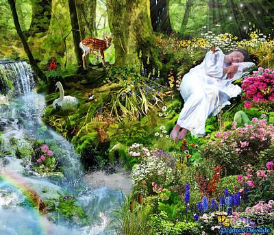 23 Digital Art - Still Waters by Dolores Develde
