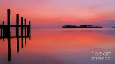 Photograph - Still Waters On Jarrett Bay by Benanne Stiens