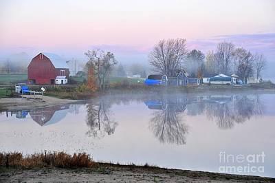 Still Waters On Stoneledge Lake Art Print