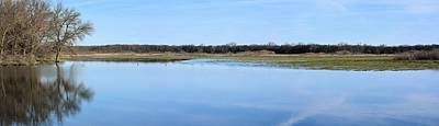 Photograph - Still Waters Panorama by Bonfire Photography