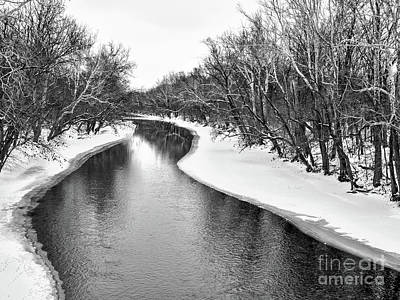 Photograph - Still Winter Water by Third Eye Perspectives Photographic Fine Art