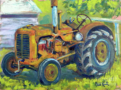 Painting - Still Workin' by William Reed