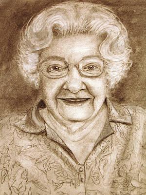Drawing - Still Young At Heart by Barbara J Blaisdell