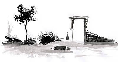 Drawing - Still by ZileArt