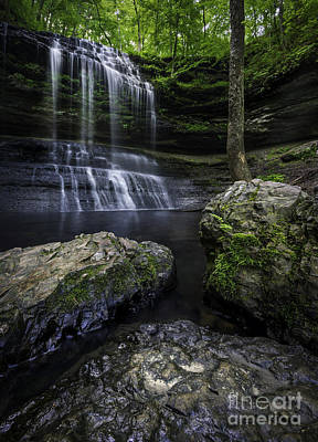 Stillhouse Hollow Falls Photograph - Stillhouse Hollow Guardians by Desmond Lake