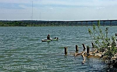 Photograph - Stillhouse Lake Canoe - No.2016 by Joe Finney