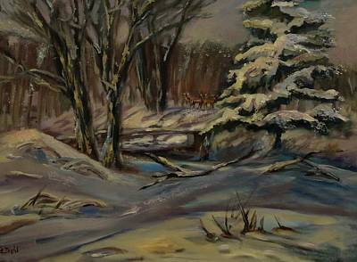 Painting - Stillness by Grace Diehl