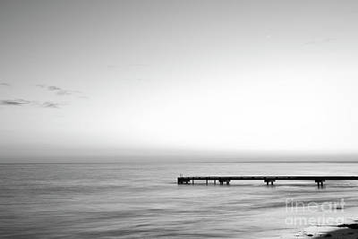 Photograph - Stillness In Black And White by Ivy Ho