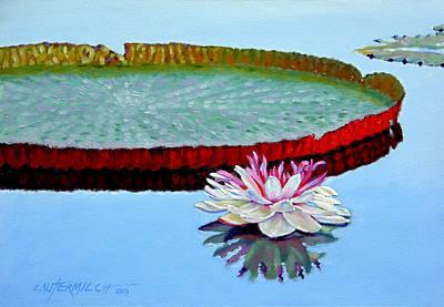 Quietness Painting - Stillness by John Lautermilch