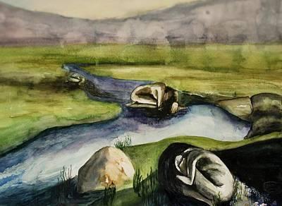 Stillness Art Print by Sky Schulz