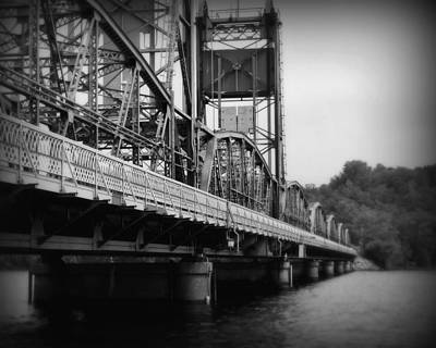 Stillwater Photograph - Stillwater Bridge  by Perry Webster