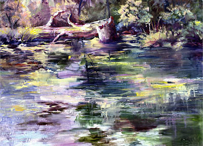 Painting - Stillwater by Connie Williams