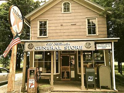 Photograph - Vintage  New Jersey General Store by Maggie Vlazny