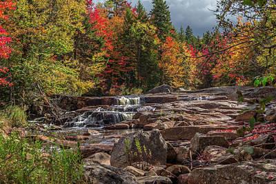 Photograph - Stillwaters Falls by Rhys Templar