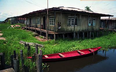 Photograph - Stilt House In Ayetoro by Muyiwa OSIFUYE