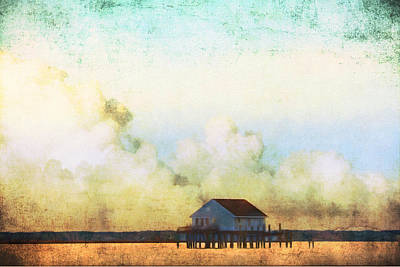 Photograph - Stilted Clouds by Alice Gipson