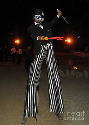 Photograph - Stiltwalker 1 by Randall Weidner
