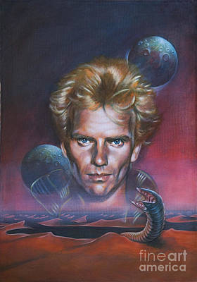 Painting - Sting In Dune by Ritchard Rodriguez