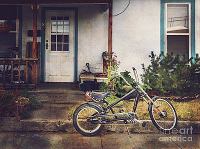 Art Print featuring the photograph Sting Ray Bicycle by Craig J Satterlee