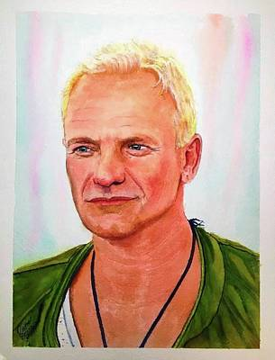 Painting - Sting by Richard Benson