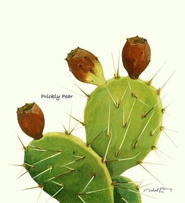 Painting - Prickly Pear by Michael Earney