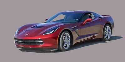 Photograph - 2016 Stingray Corvette by Jack Pumphrey