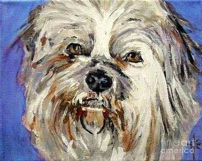 Painting - Stink by Jodie Marie Anne Richardson Traugott          aka jm-ART