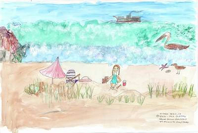 Stinson Beach Art Print