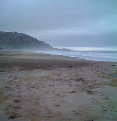 Stinson Beach California Photograph - Stinson Beach Morning Tides by Mary Chris Hines