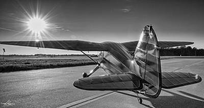Photograph - Stinson On The Ramp by Philip Rispin