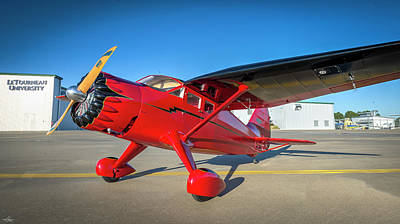Photograph - Stinson Reliant Rc Model 03 by Philip Rispin