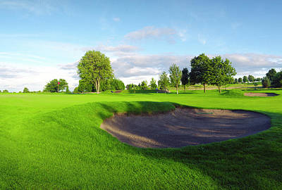 Photograph - Stirling Golf Club 10th by Jan W Faul
