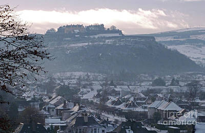Photograph - Stirling - Winter Light by Phil Banks