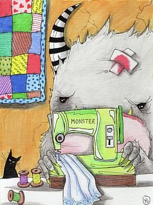 Painting - Stitcher by Julie McDoniel