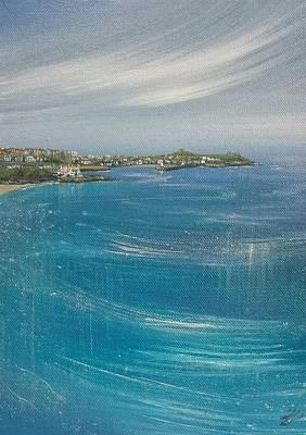 Painting - St.ives, Cornwall, Uk  by Keran Sunaski Gilmore