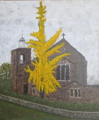 Painting - St.james Church, Exeter by Tamara Savchenko