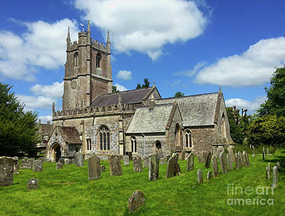 Photograph - St.james Church In Avebury by Gregory Dyer