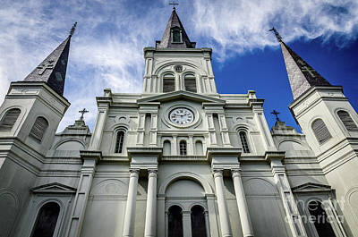 Photograph - St.louis Cathedral - New Orleans by Kathleen K Parker